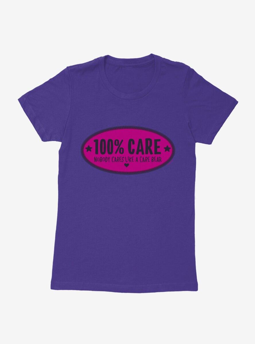 Care Bears 100% Care Womens T-Shirt