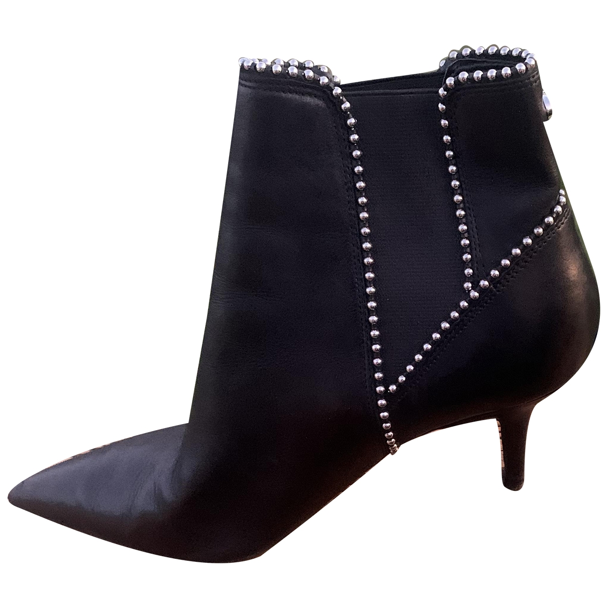 Guess \N Black Leather Boots for Women 40 EU