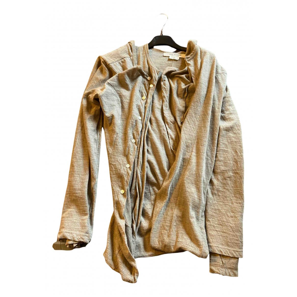 Junya Watanabe - Pull   pour femme en laine - beige