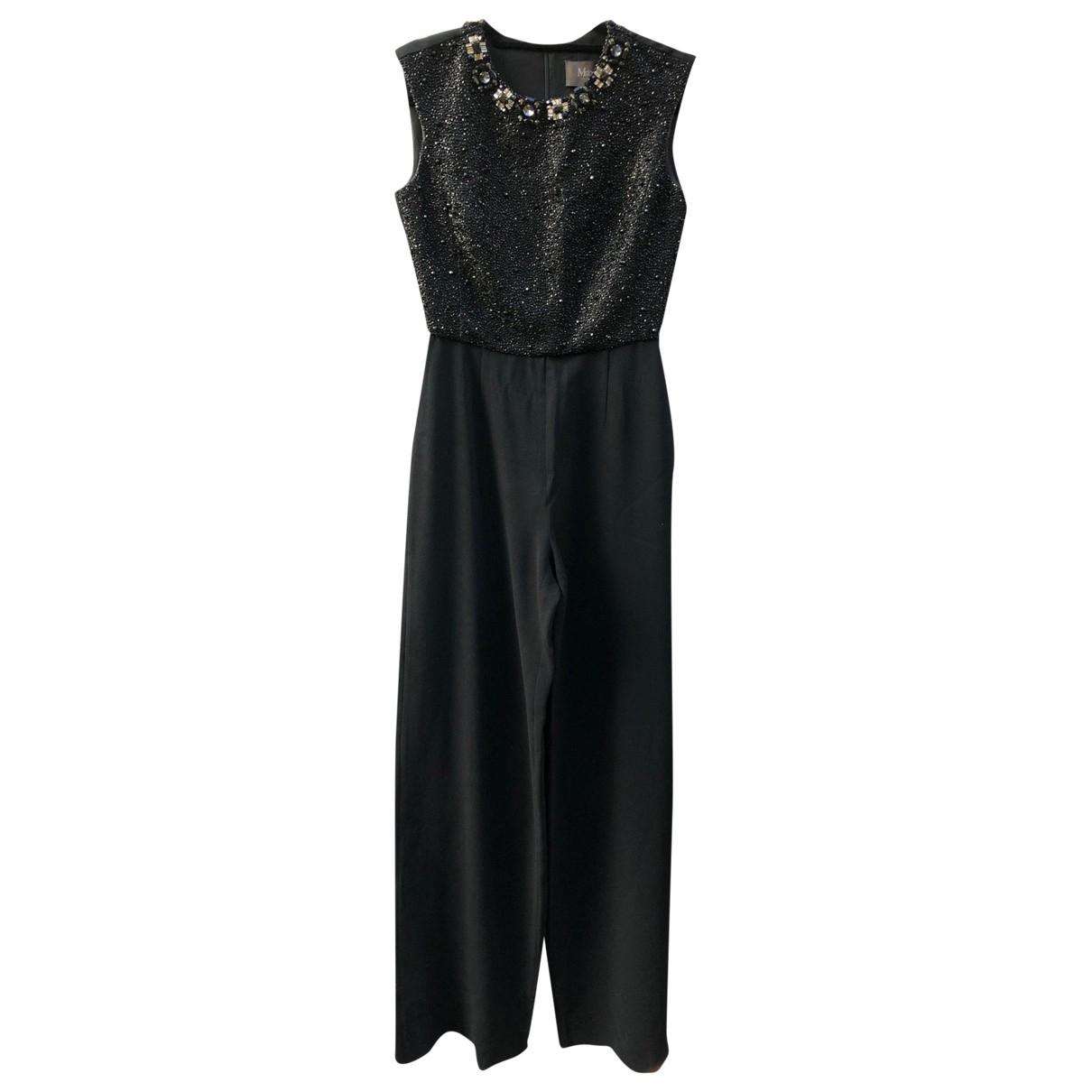 Max Mara \N Black jumpsuit for Women 36 FR