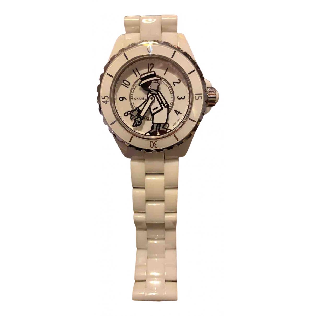 Reloj J12 Automatique de Ceramica Chanel