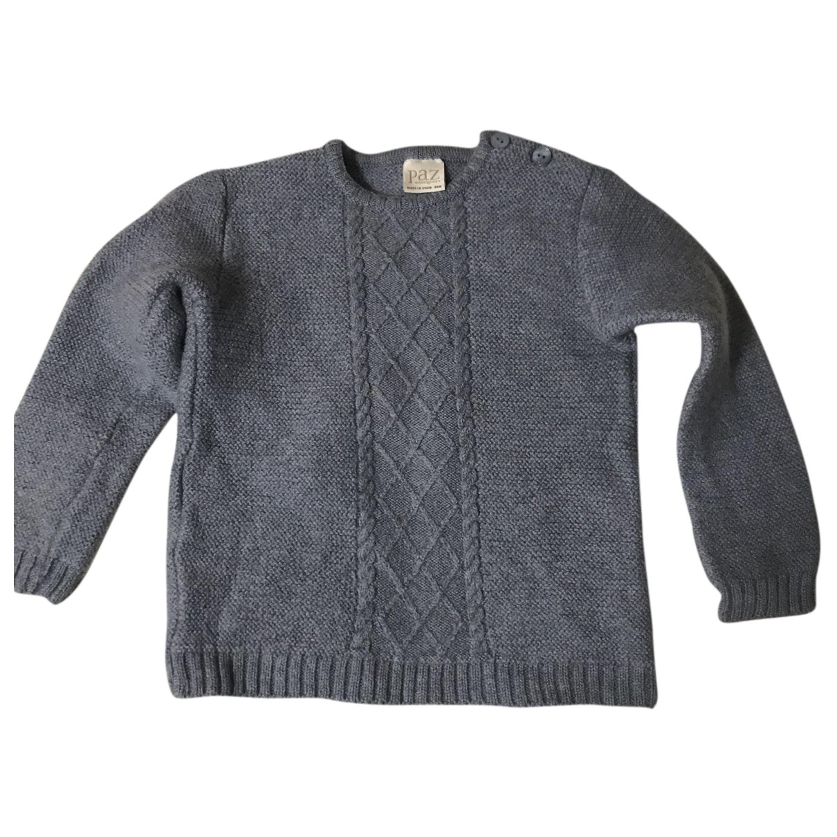 Paz Rodriguez N Blue Wool Knitwear for Kids 3 years - until 39 inches UK