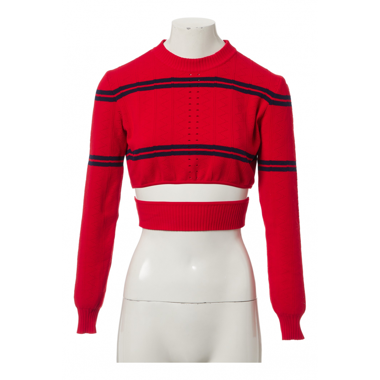 Fendi \N Pullover in  Rot Viskose