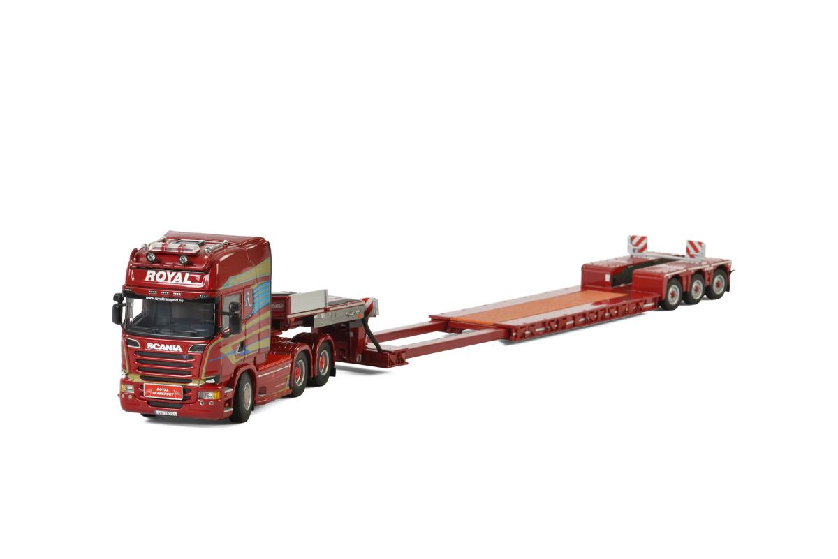 Scania Streamline Topline 6x4 Low Loader