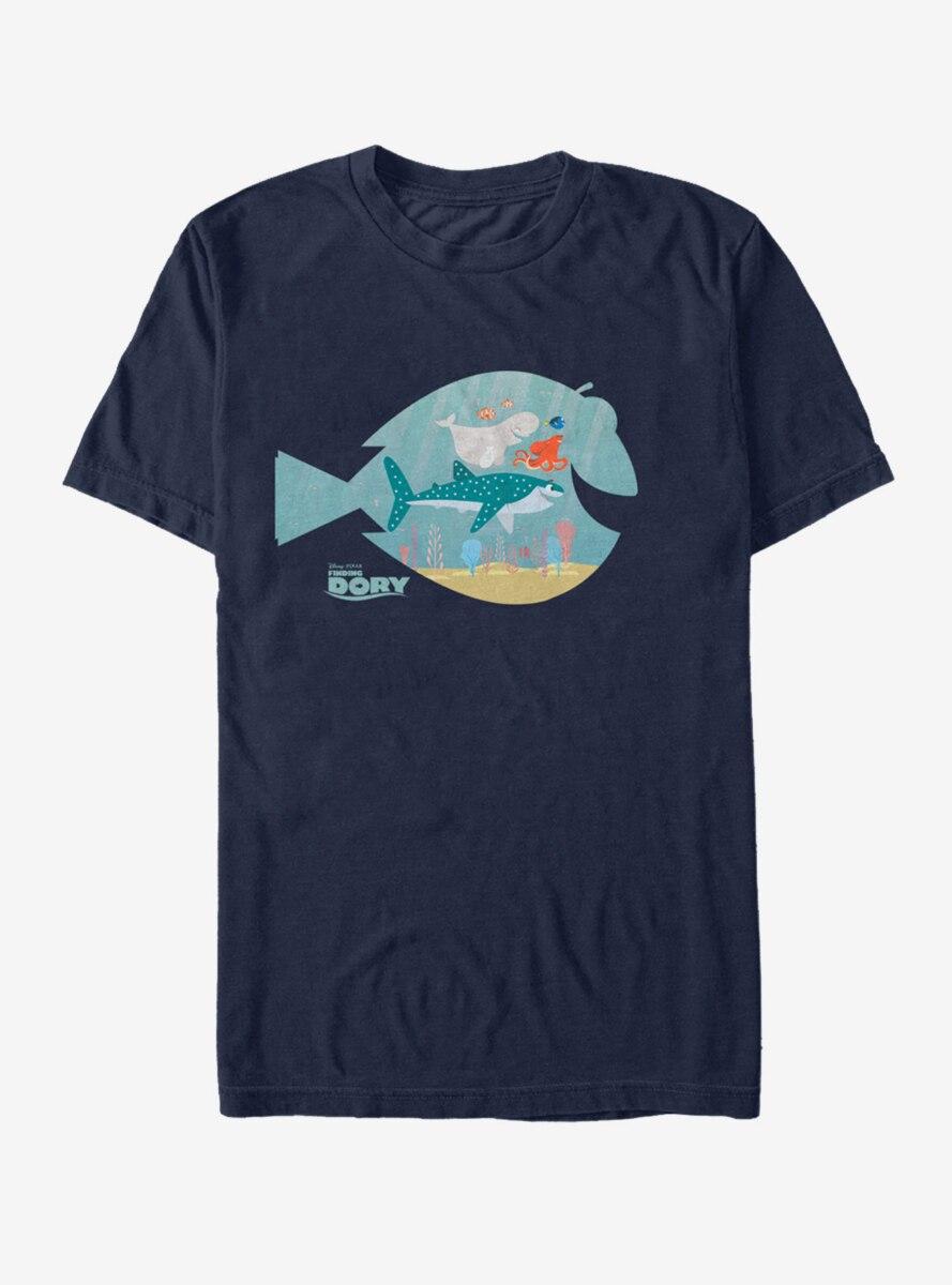 Disney Pixar Finding Dory Fish Frame T-Shirt