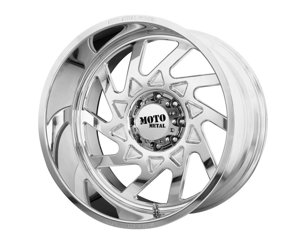 Moto Metal MO40320400L176NR MO403 Wheel 20.00x14.00 Blank -76 Polished