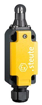 Steute , Positive Break, Slow Action Limit Switch - Aluminium, NO/NC, Roller/Plunger, 250V, IP66