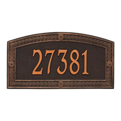 1876OB Personalized Hamilton Plaque - Estate - Wall - 1 line in Oil Rubbed