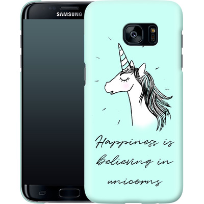 Samsung Galaxy S7 Edge Smartphone Huelle - Believing von caseable Designs