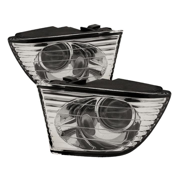 Spyder Auto FL-LIS01-C Clear OEM Fog Lights Lexus IS300 01-05