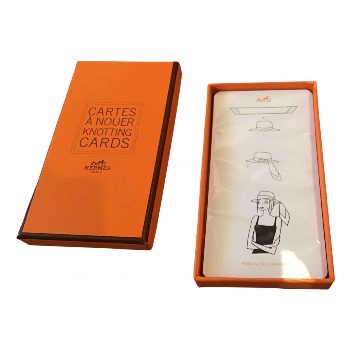Hermes - Objets & Deco   pour lifestyle en coton - beige