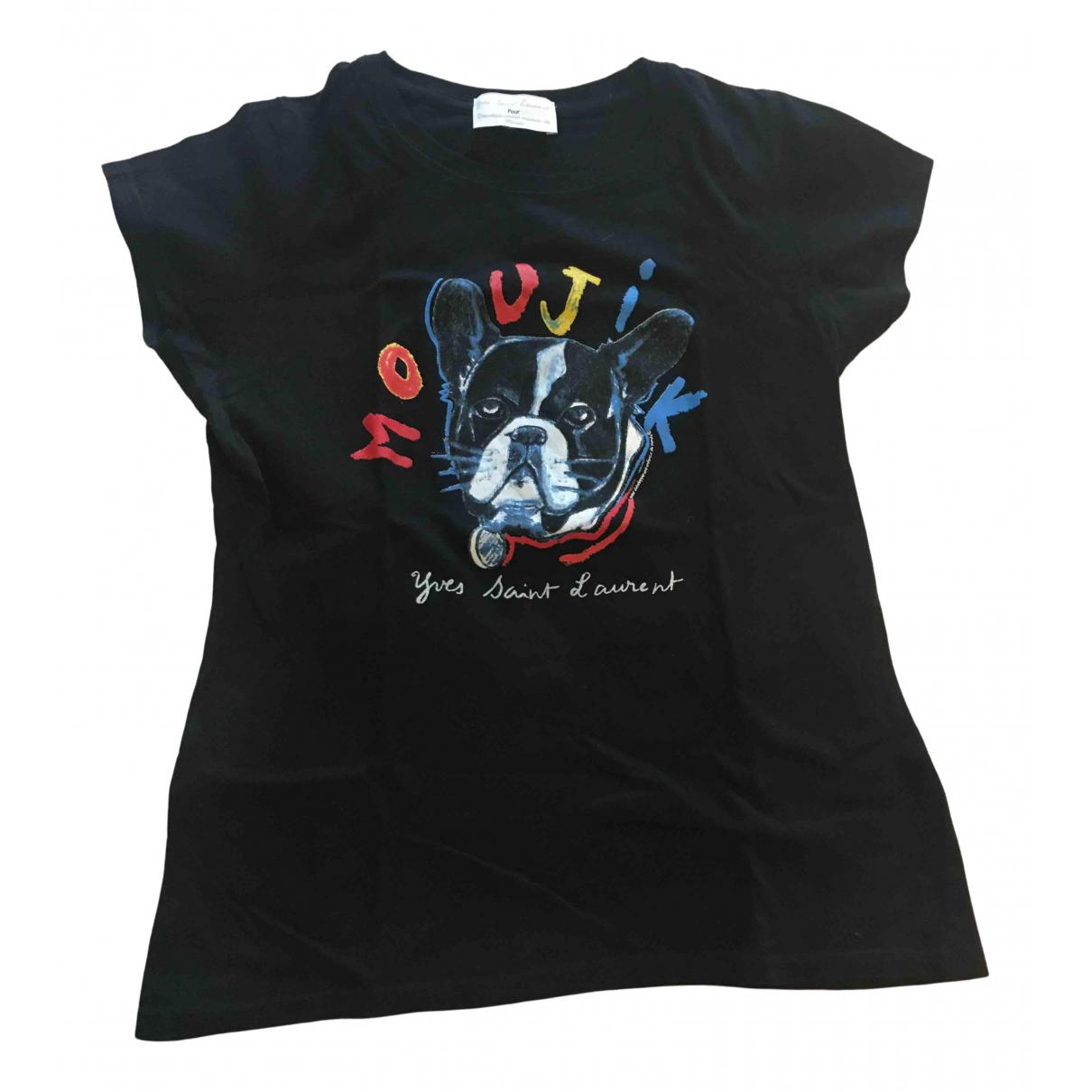 Yves Saint Laurent \N Black Cotton  top for Women M International