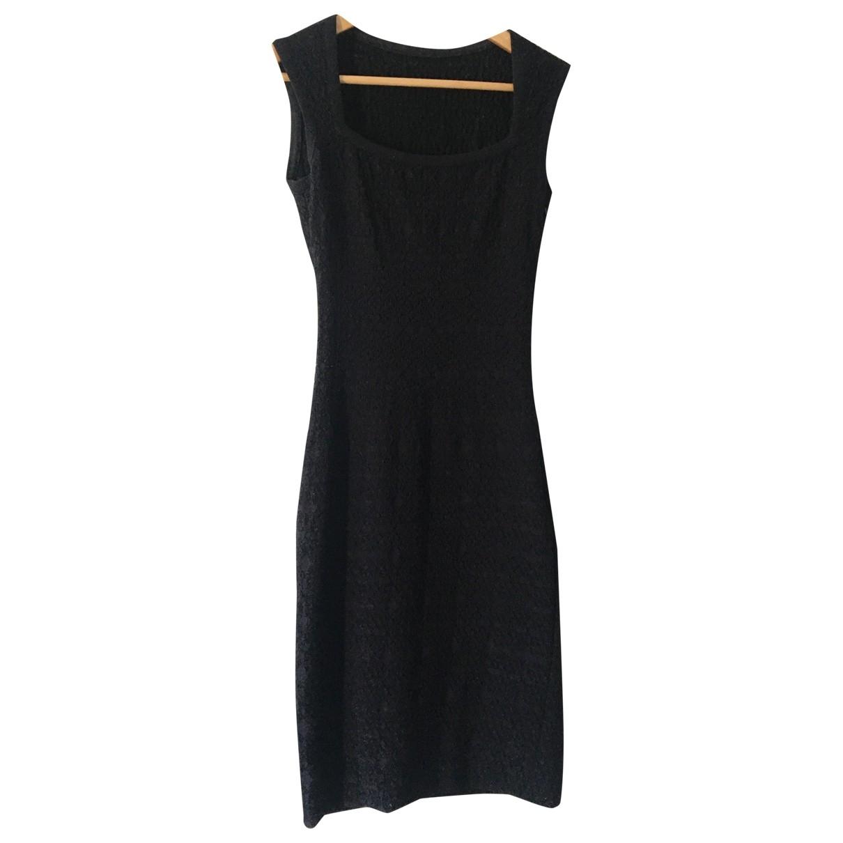 Alaïa \N Black Cotton dress for Women 38 FR
