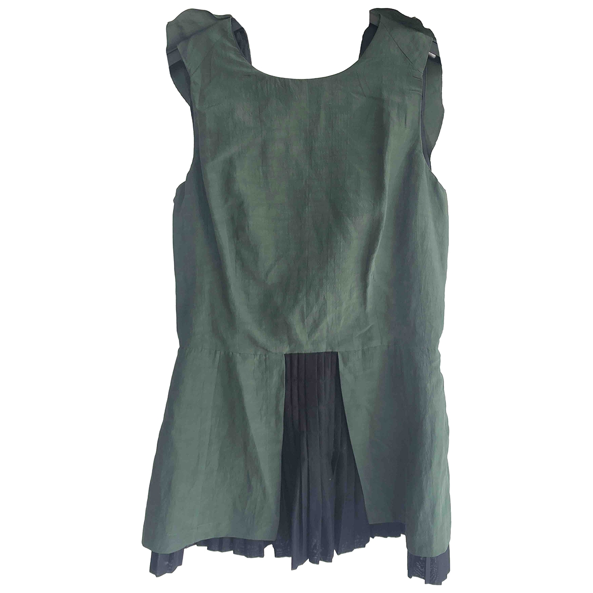 Marni \N Green Cotton  top for Women 40 IT