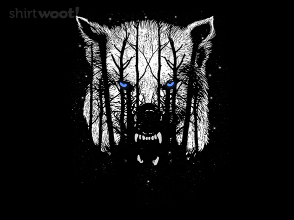 The Winter Wolf Is Coming T Shirt