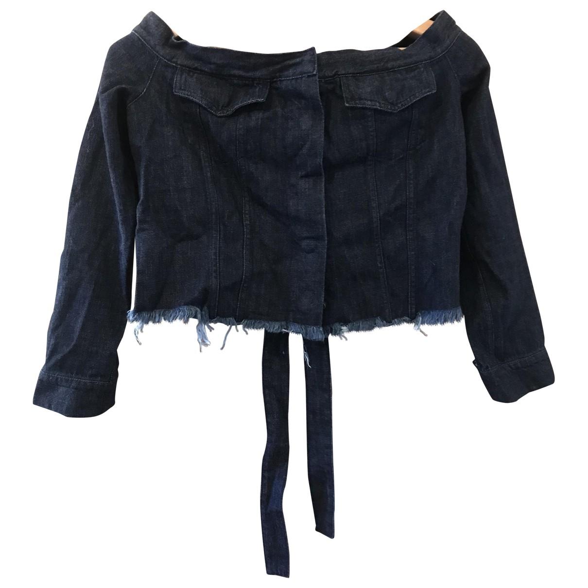 Marques Almeida \N Blue Denim - Jeans jacket for Women 8 UK