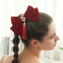 Haarspange mit Strass