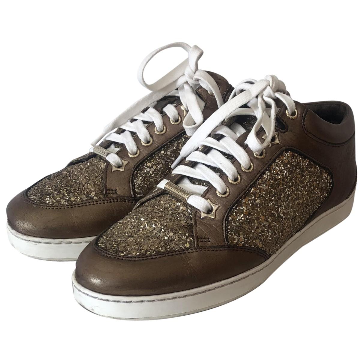 Jimmy Choo \N Sneakers in Leder