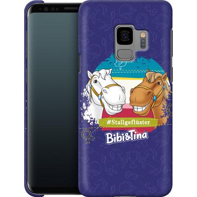 Samsung Galaxy S9 Smartphone Huelle - Bibi und Tina Stallgefluester von Bibi & Tina