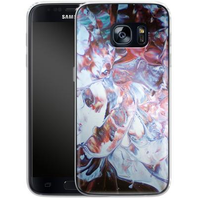 Samsung Galaxy S7 Silikon Handyhuelle - Macro 3 von Gela Behrmann