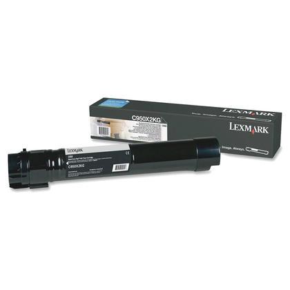 Lexmark C950X2KG Original Black Toner Cartridge Extra High Yield