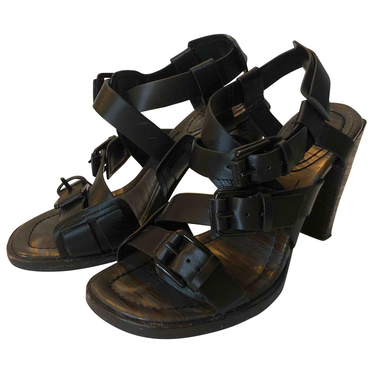 3.1 Phillip Lim \N Black Leather Sandals for Women 36 EU