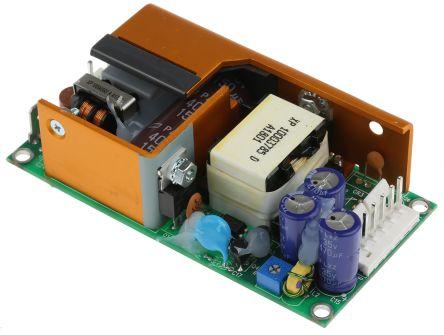 XP Power , 60W AC-DC Converter, 24V dc, Open Frame, Medical Approved