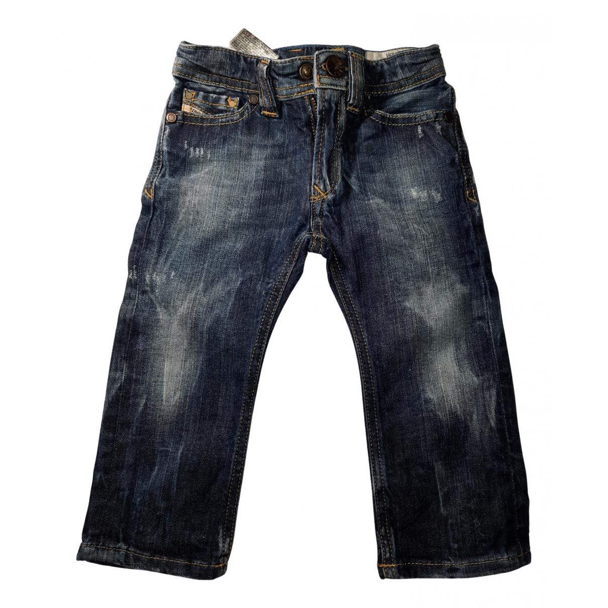 Diesel N Blue Denim - Jeans Trousers for Kids 12 months - up to 74cm FR