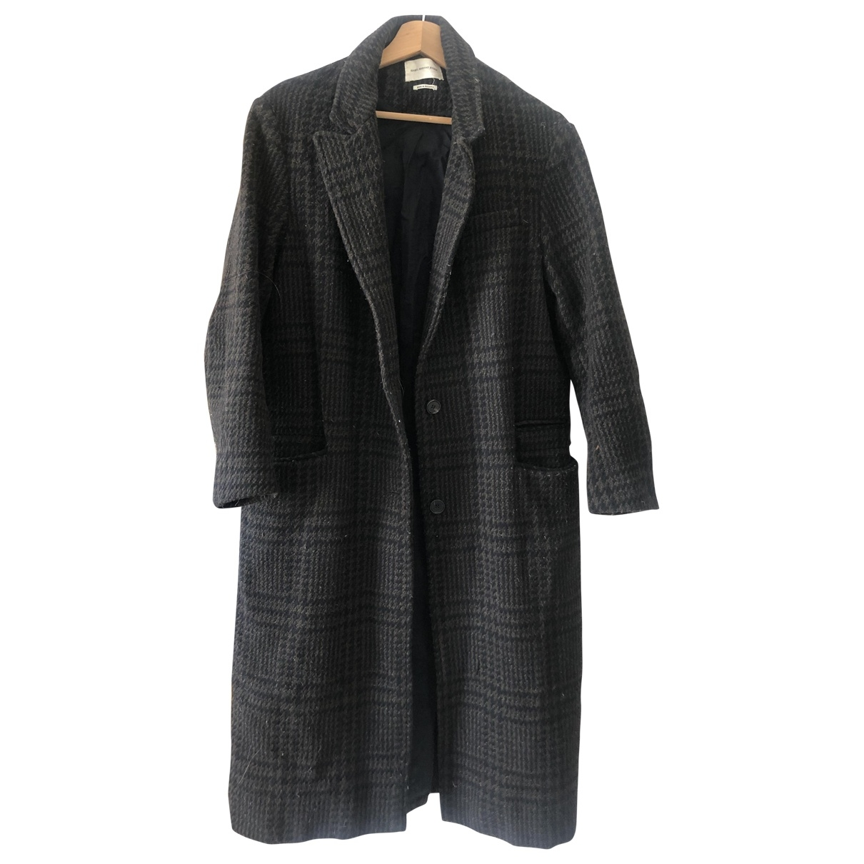 Isabel Marant \N Brown Wool coat for Women 10 UK