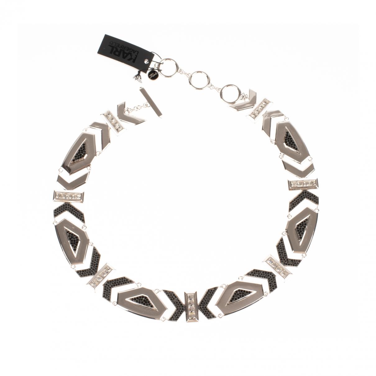 Karl Lagerfeld \N Silver Steel necklace for Women \N