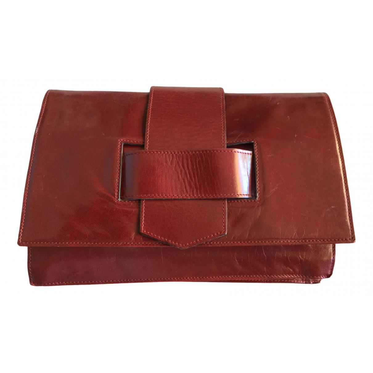 Walter Steiger \N Burgundy Leather Clutch bag for Women \N