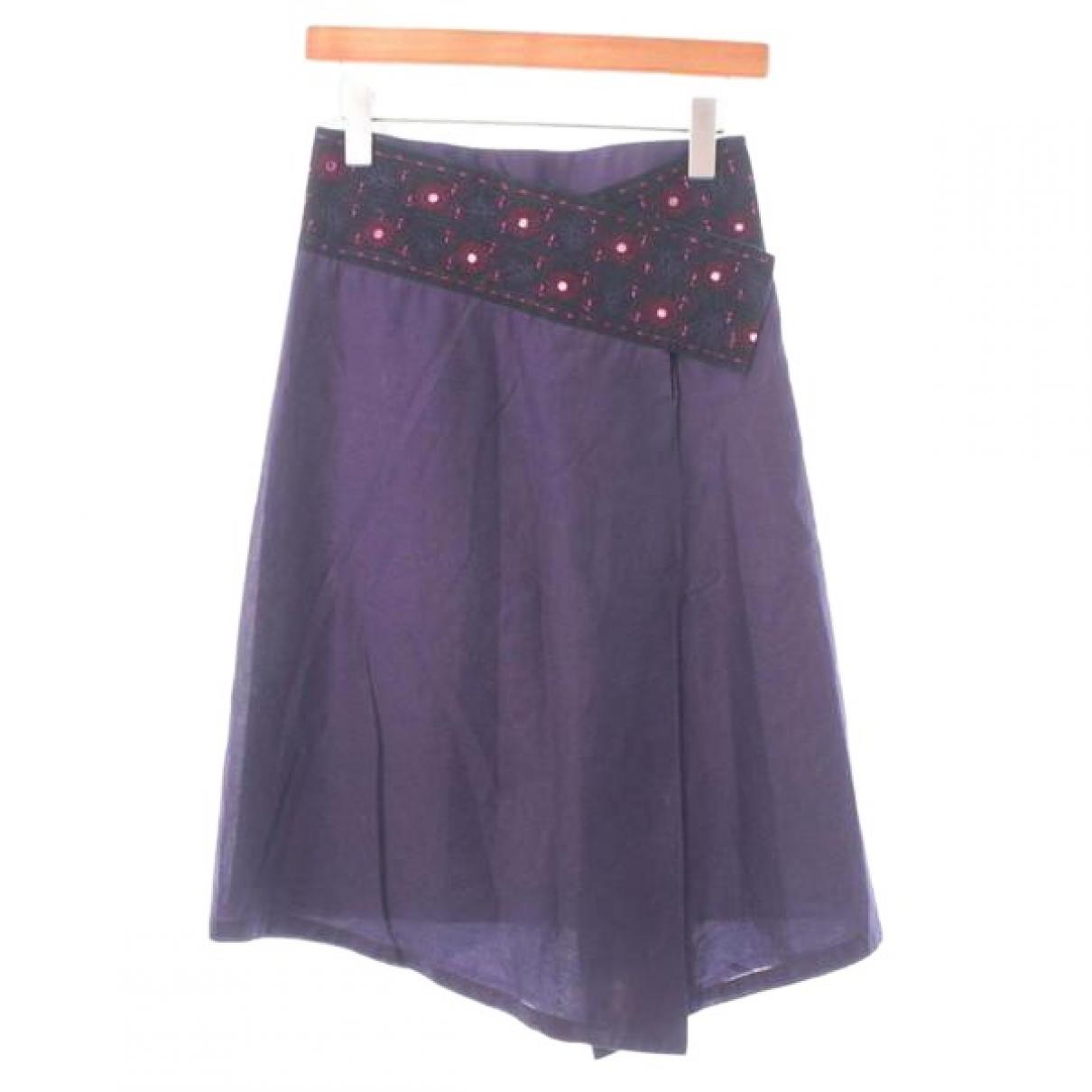 Isabel Marant - Jupe   pour femme en coton - violet