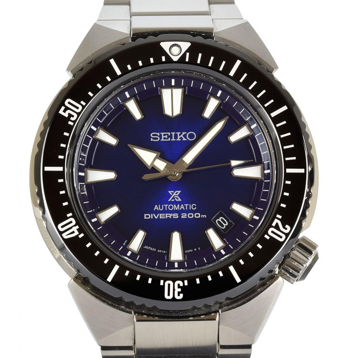 Seiko - Montre   pour homme en acier - bleu