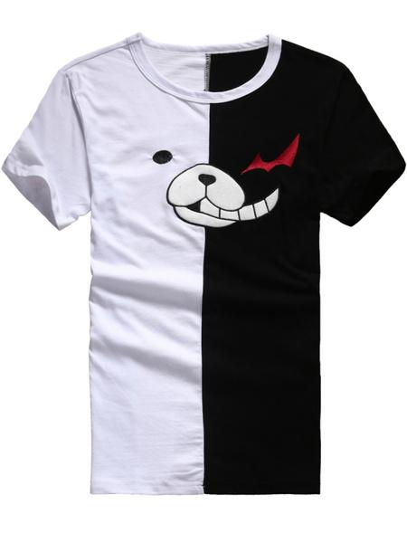 Milanoo Danganronpa Monokuma Anime T-Shirts Halloween
