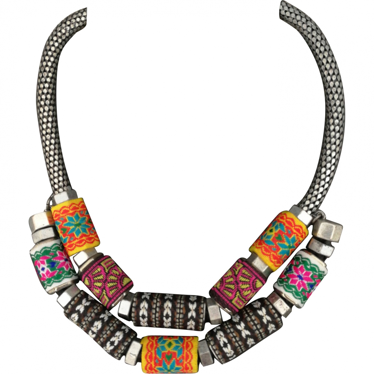 Zara \N Multicolour Metal necklace for Women \N