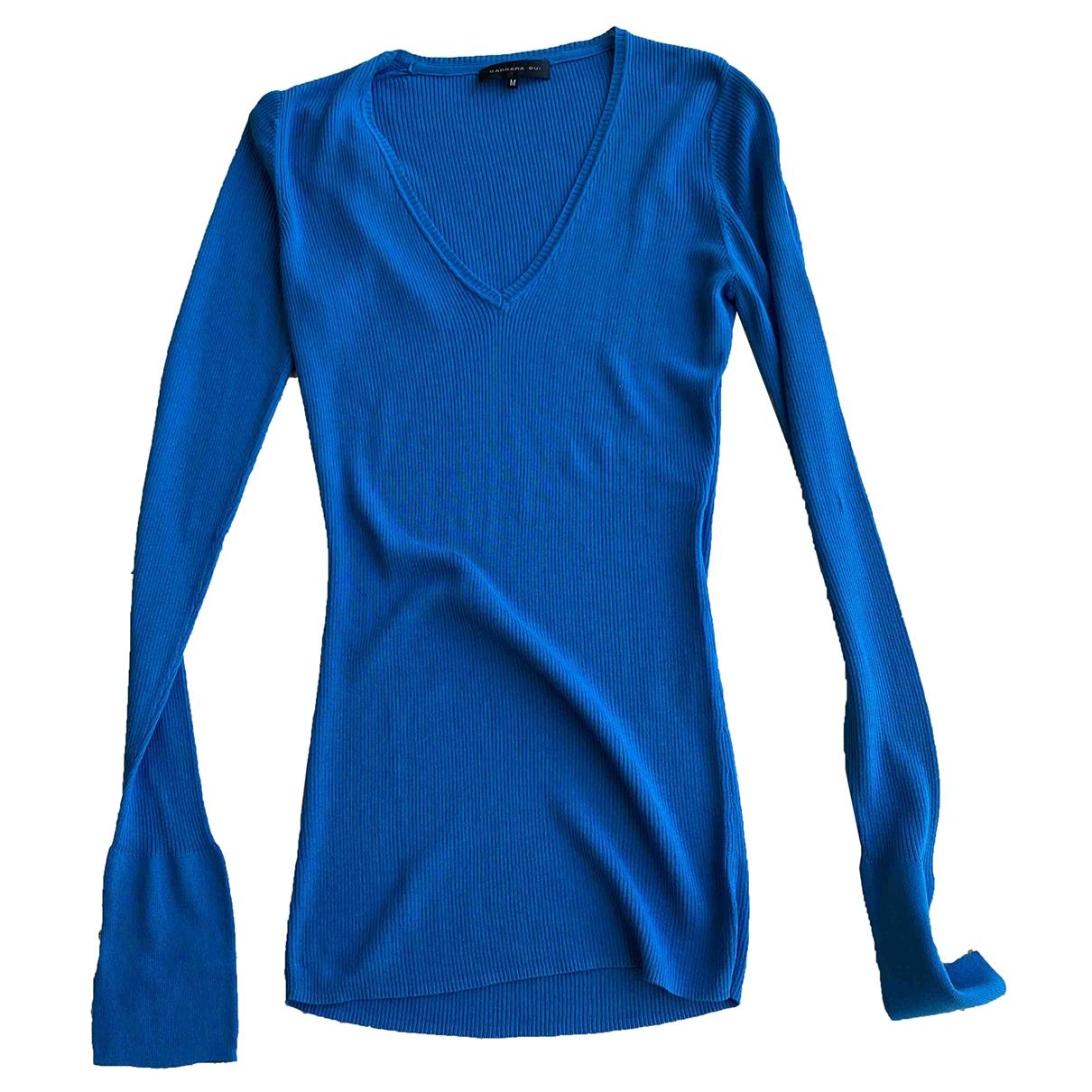 Barbara Bui \N Pullover in  Blau Baumwolle