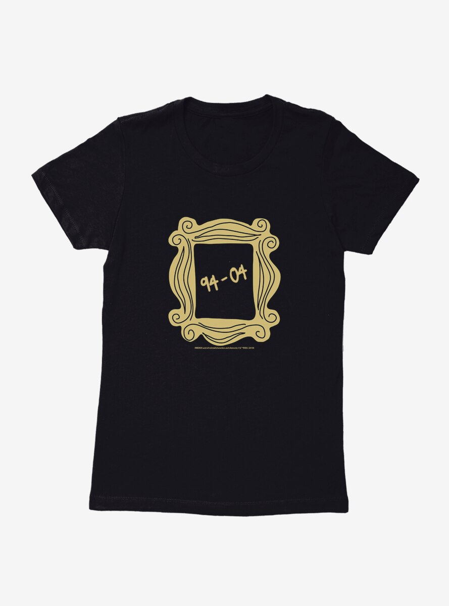 Friends 94-04 Frame Womens T-Shirt