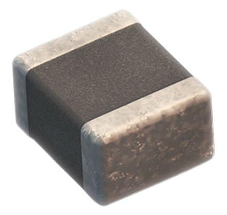 Wurth Elektronik 0603 (1608M) 3.3nF Multilayer Ceramic Capacitor MLCC 50V dc ±10% SMD 885012206086 (100)