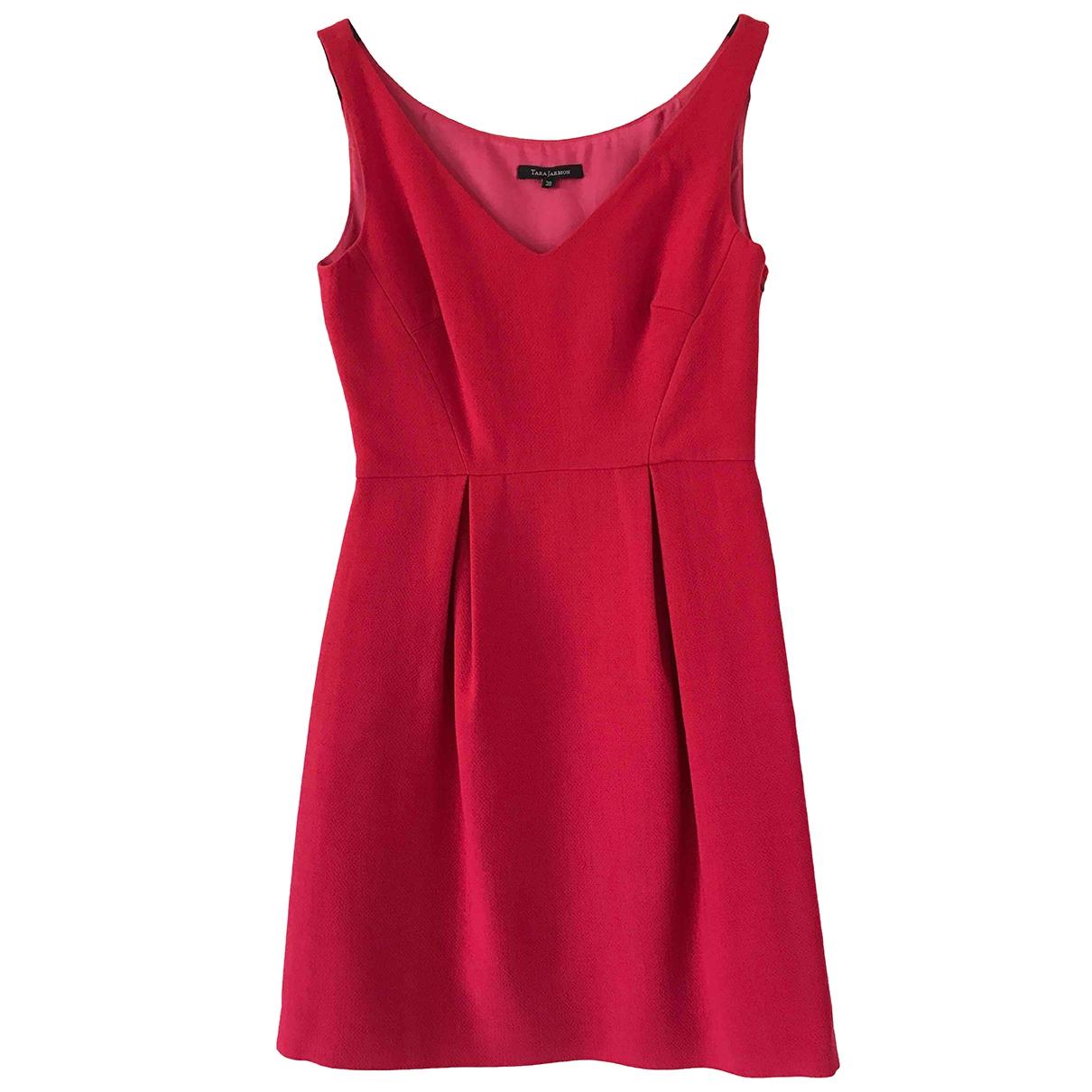 Tara Jarmon - Robe   pour femme en laine - rose