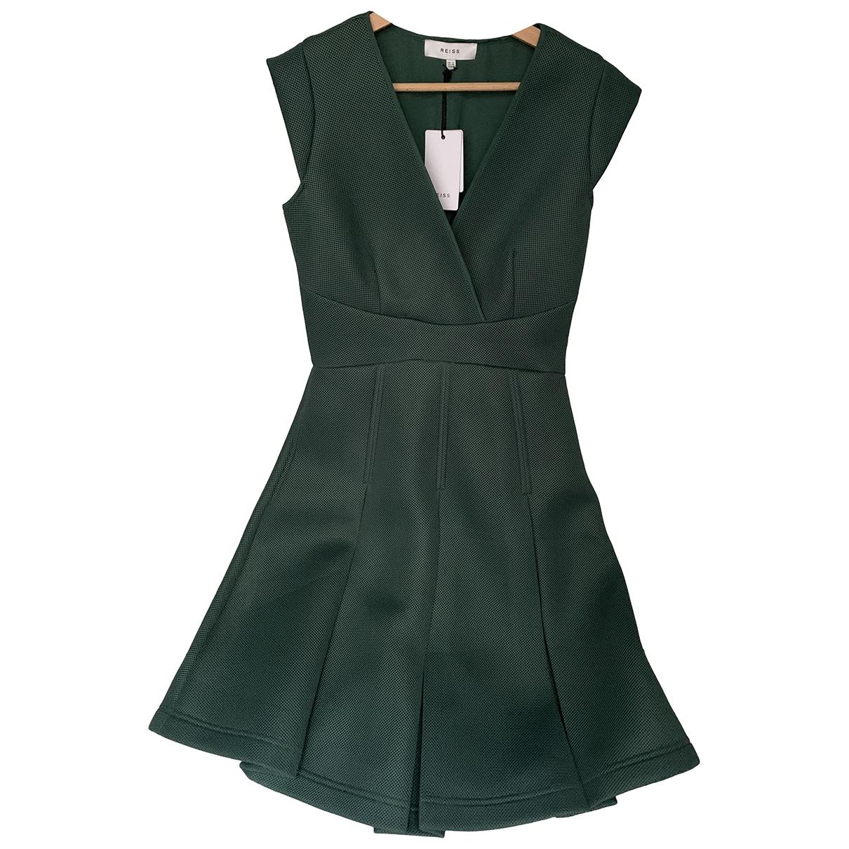 Reiss \N Kleid in  Gruen Polyester
