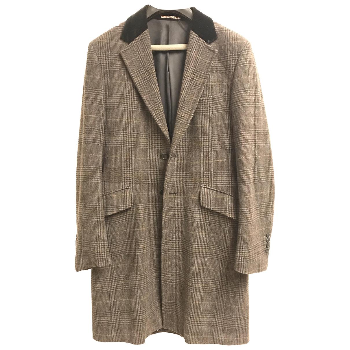 Paul Smith - Manteau   pour homme en coton - marron