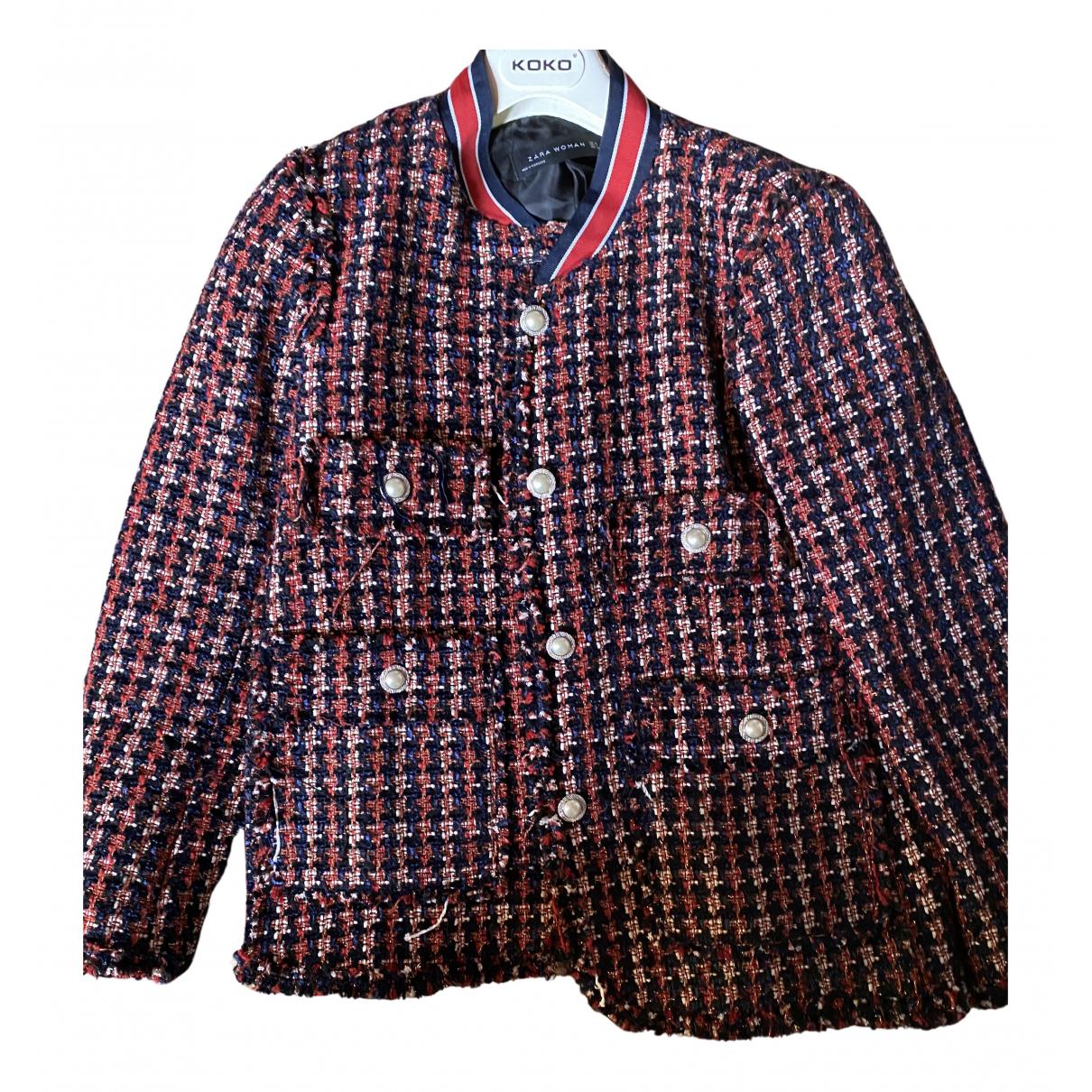 Zara N Multicolour Tweed jacket for Women M International