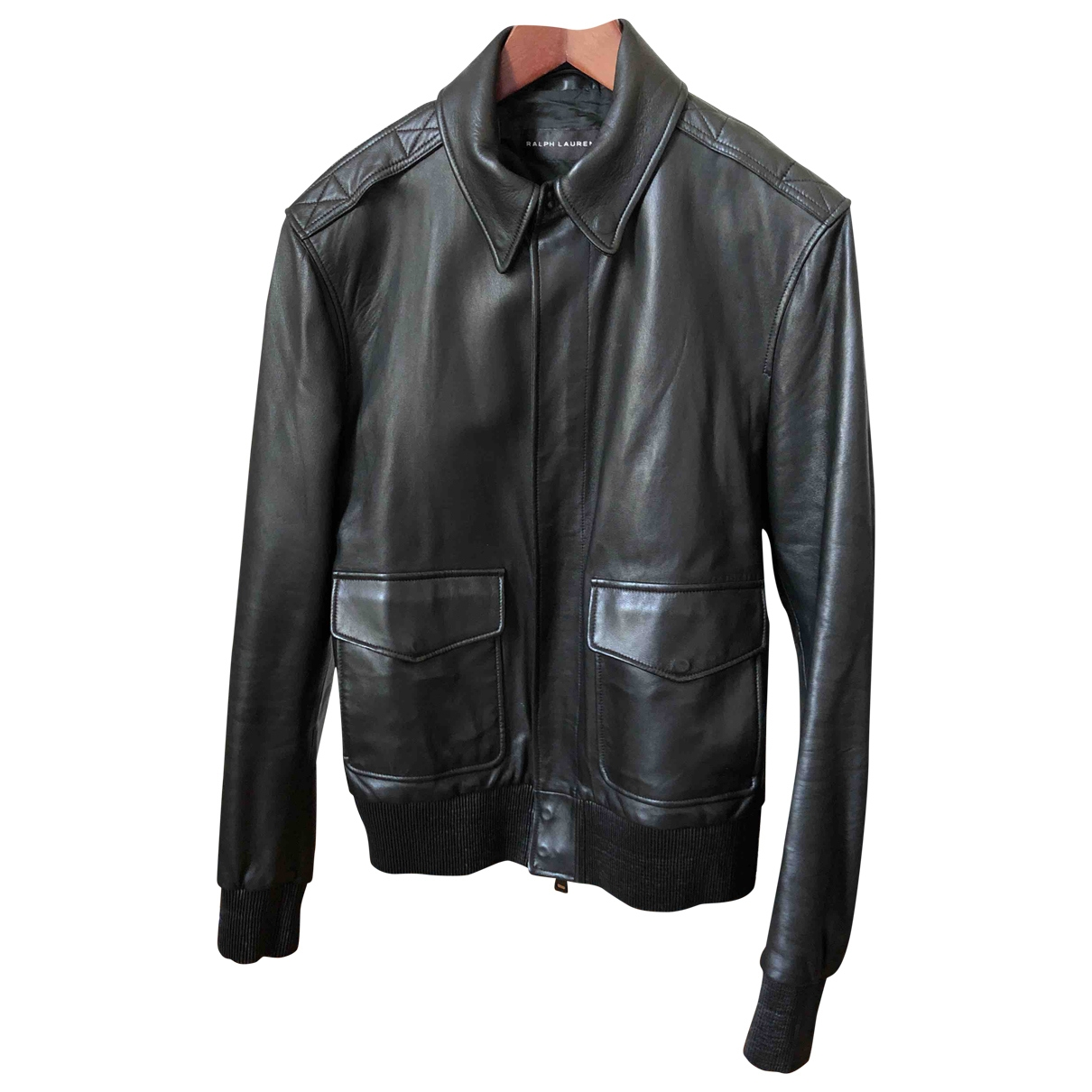 Ralph Lauren \N Black Leather jacket  for Men S International