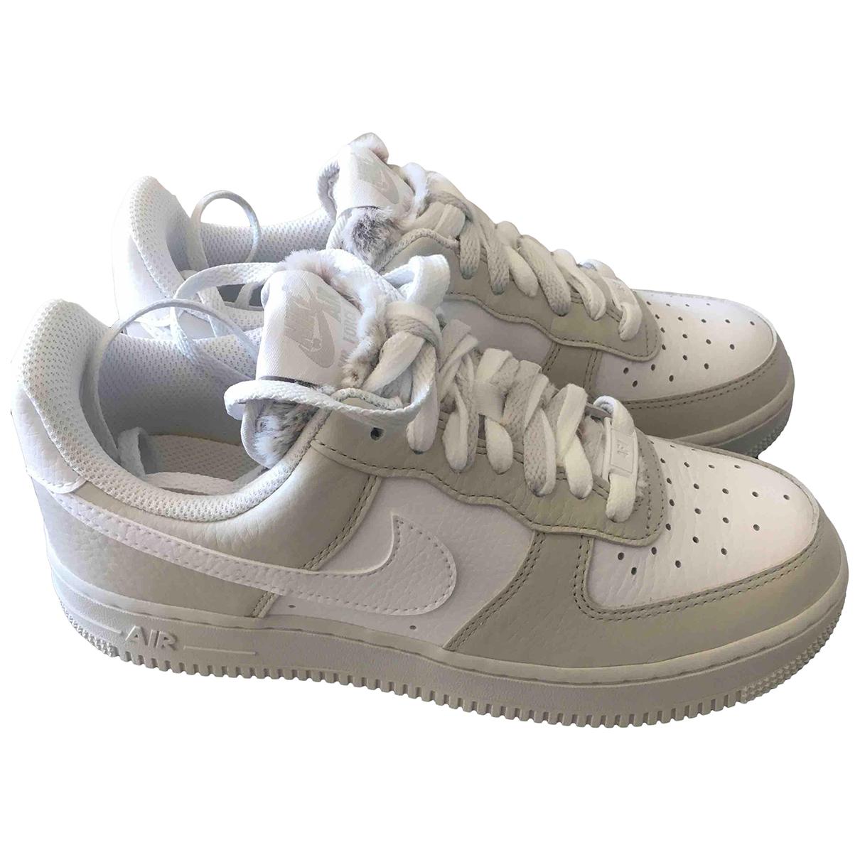 Deportivas Air Force 1 de Pelo sintetico Nike