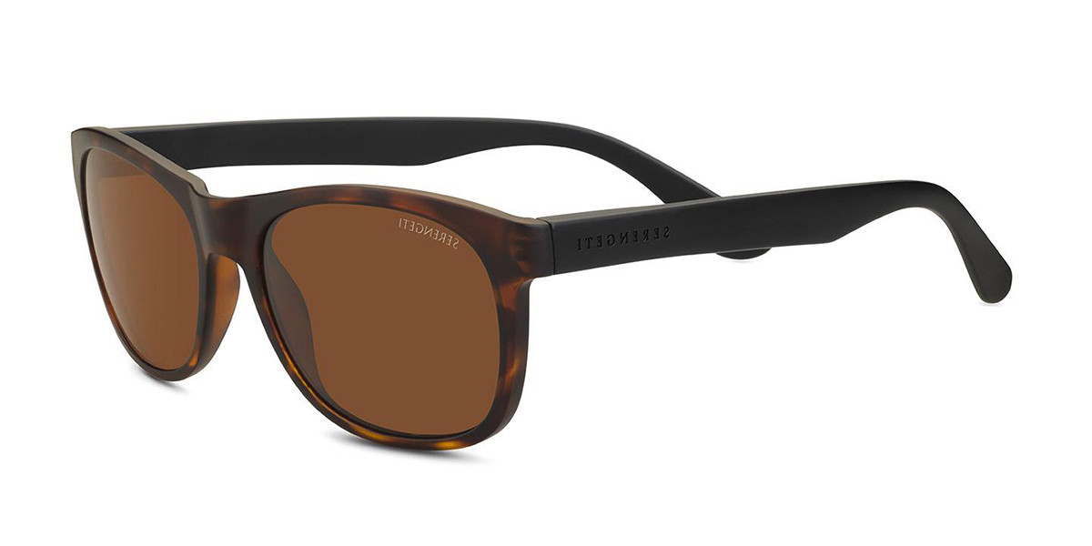Serengeti Anteo Polarized 8669 Women's Sunglasses Tortoise Size 55