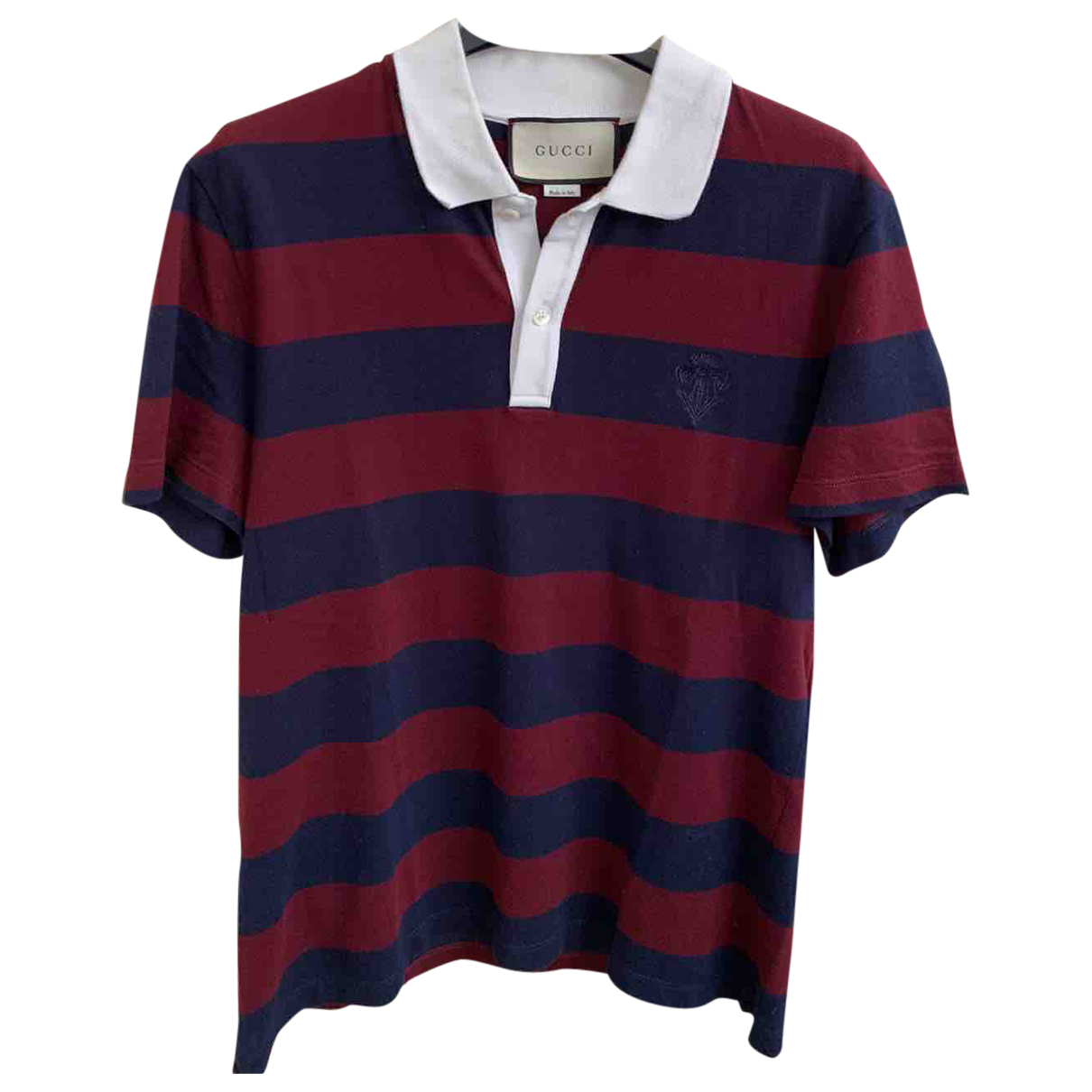 Polo en Algodon Multicolor Gucci