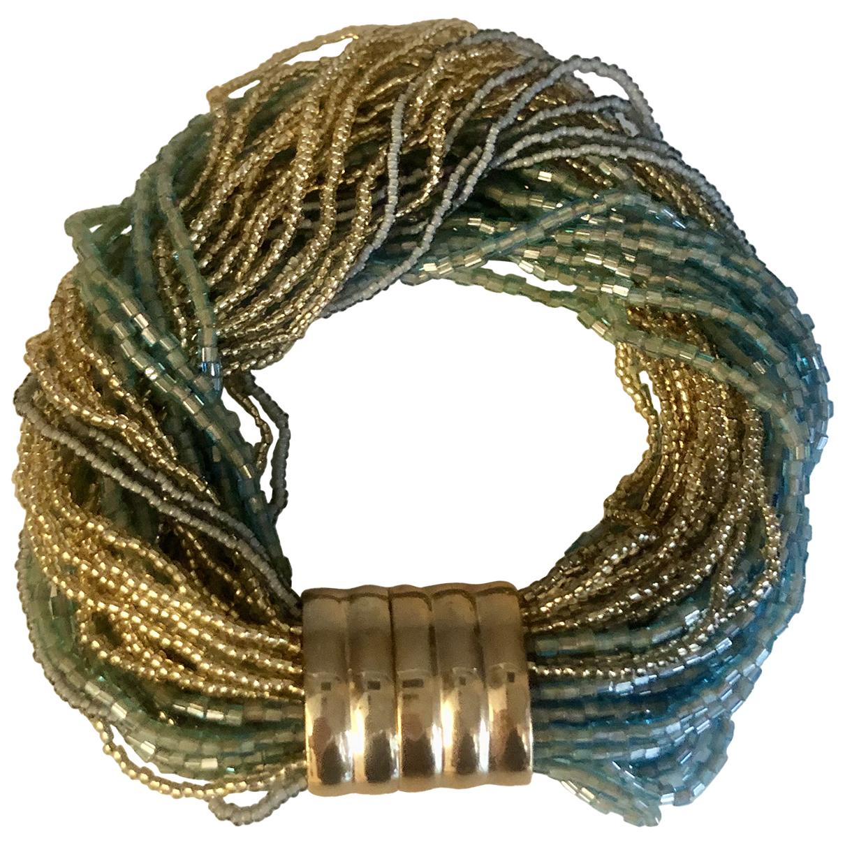 - Bracelet Gourmette pour femme en autre - multicolore