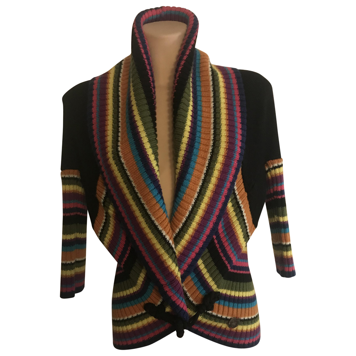 Galliano N Multicolour Wool Knitwear for Women XS International