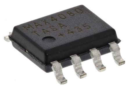 Maxim Integrated MAX4080TASA+ , Current Sense Amplifier Single Rail to Rail 8-Pin SOIC (100)
