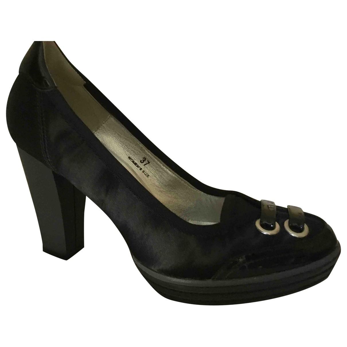 Hogan \N Black Patent leather Heels for Women 37 EU